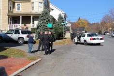 Hit And Run Investigated, Rowe Street, North Lehigh Street, Tamaqua, 11-16-2015 (3)