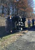 Overturned Armored Vehicle, Possible Confinement, Interstate 81, Kline Township, 11-3-2015 3