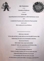 Shows via Strawberry Playhouse in Tuscarora