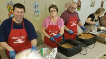 Thanksgiving Day Meal, Deliveries, Tamaqua Salvation Army, Tamaqua, 11-26-2015 (6)