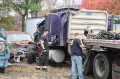 Tractor Trailer Overturns, US209, SR93, Nesquehoning, 11-5-2015 (34)