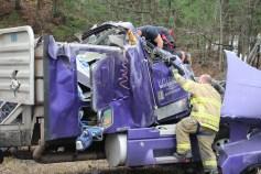 Tractor Trailer Overturns, US209, SR93, Nesquehoning, 11-5-2015 (6)