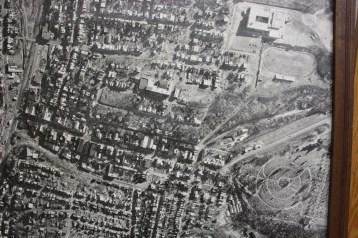 Aerial Photograph of Tamaqua, Borough Hall, Tamaqua, 1970s (63)