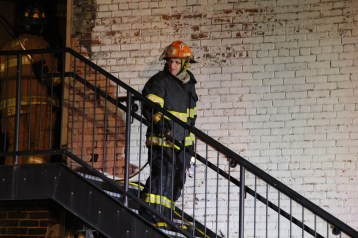 Apartment Building Fire, 45 West Broad Street, Tamaqua, 12-19-2015 (240)