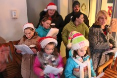 Community Members, Volunteers with Tamaqua Community Arts Center Sing Carols, Tamaqua (5)