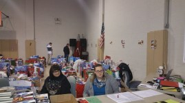 Food Basket, Angel Tree, Toys For Tots Distribution, Salvation Army, Tamaqua, 12-17-2015 (5)