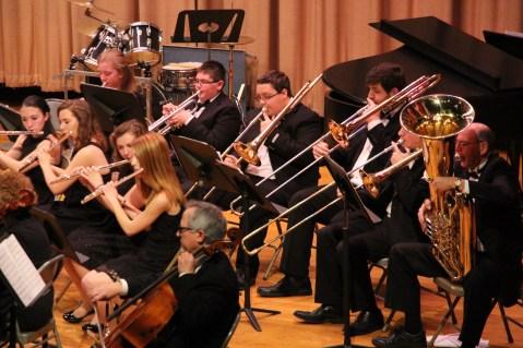 Holiday Concert via Gabriel Youth Orchestra, Lengel Auditorium, Pottsville MS (53)
