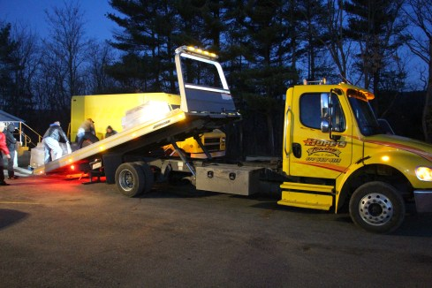 Hope's Towing and Collision Helps Deliver Holiday Hams for Salvation Army, Lehighton (23)