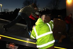 Hope's Towing and Collision Helps Deliver Holiday Hams for Salvation Army, Lehighton (30)