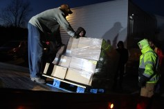 Hope's Towing and Collision Helps Deliver Holiday Hams for Salvation Army, Lehighton (33)