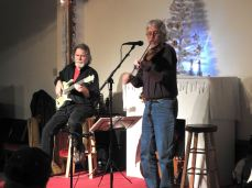 Jay Smar performs, Summit Hill Heritage Center, Summit Hill, 12-11-2015 (21)