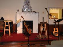 Jay Smar performs, Summit Hill Heritage Center, Summit Hill, 12-11-2015 (28)