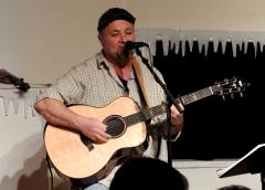 Jay Smar performs, Summit Hill Heritage Center, Summit Hill, 12-11-2015 (9)