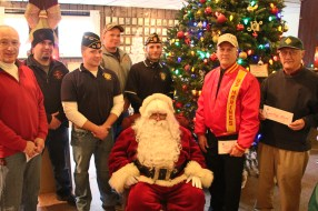 Lansford American Legion Donates to Muliple Organizations, American Legion, Lansford, 12-19-2015 (5)