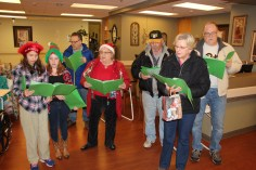 Parishioners of St John UCC in Tamaqua Go Caroling, St Luke's Hospital, Coaldale, 12-20-2015 (3)