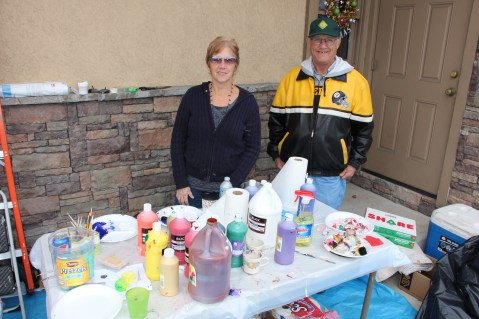 PV Students Paint Store Fronts, via Lansford Alive, Lansford, 12-11-2015 (16)