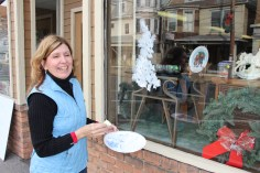 PV Students Paint Store Fronts, via Lansford Alive, Lansford, 12-11-2015 (2)