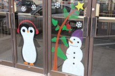 PV Students Paint Store Fronts, via Lansford Alive, Lansford, 12-11-2015 (3)