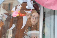 PV Students Paint Store Fronts, via Lansford Alive, Lansford, 12-11-2015 (6)
