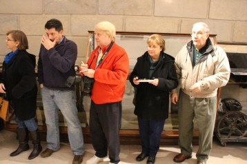 Ribbon Cutting for Renovations to Tamaqua Historical Society Museum, Tamaqua, 12-18-2015 (13)
