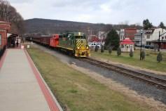 Santa Train Rides, via Tamaqua Historical Society, Train Station, Tamaqua, 12-19-2015 (102)