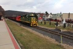 Santa Train Rides, via Tamaqua Historical Society, Train Station, Tamaqua, 12-19-2015 (104)