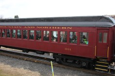 Santa Train Rides, via Tamaqua Historical Society, Train Station, Tamaqua, 12-19-2015 (123)