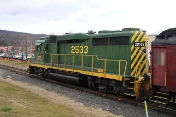 Santa Train Rides, via Tamaqua Historical Society, Train Station, Tamaqua, 12-19-2015 (138)