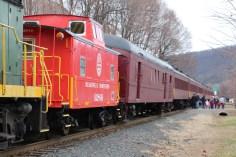 Santa Train Rides, via Tamaqua Historical Society, Train Station, Tamaqua, 12-19-2015 (61)