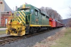 Santa Train Rides, via Tamaqua Historical Society, Train Station, Tamaqua, 12-19-2015 (62)