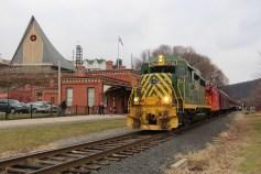Santa Train Rides, via Tamaqua Historical Society, Train Station, Tamaqua, 12-19-2015 (63)