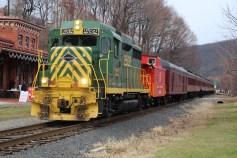 Santa Train Rides, via Tamaqua Historical Society, Train Station, Tamaqua, 12-19-2015 (7)