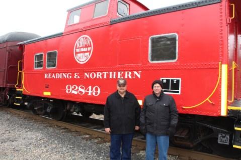 Santa Train Rides, via Tamaqua Historical Society, Train Station, Tamaqua, 12-19-2015 (70)