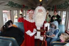 Santa Train Rides, via Tamaqua Historical Society, Train Station, Tamaqua, 12-19-2015 (86)