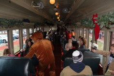 Santa Train Rides, via Tamaqua Historical Society, Train Station, Tamaqua, 12-19-2015 (91)