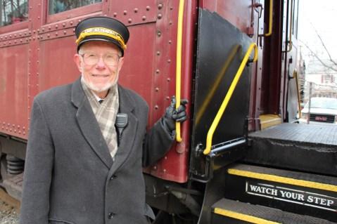 Santa Train Rides, via Tamaqua Historical Society, Train Station, Tamaqua, 12-19-2015 (94)