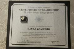 Two Tamaqua Girl Scouts Receive Silver Award, Evangelical Lutheran Church, Tamaqua, 12-20-2015 (3)