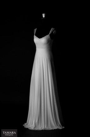 שמלת כלה חלקה