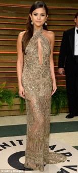 Selena Gomez wearing Emilio Pucci
