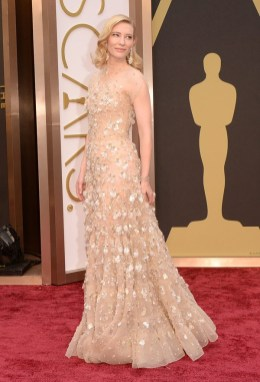 Cate Blanchett wearing Armani