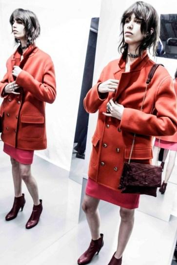 Lanvin Red Coat - Pre-Fall 2015