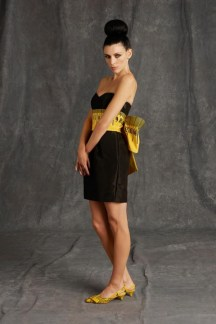 Moschino Measurement Dress - Pre-Fall 2015