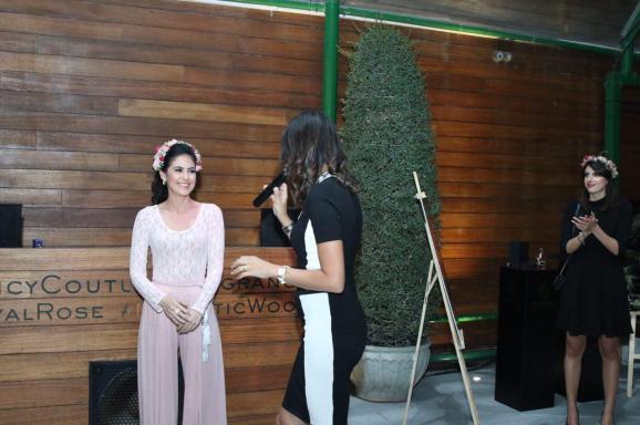 Tamara Al Gabbani hosts the Juicy Couture launch of their Regal Collection in Dubai