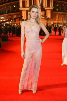 Lily Donaldson in Burberry - British Fashion Awards 2016