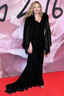Kate Moss - British Fashion Awards 2016