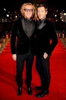 Peter Dundas and Evangelo Bousis - British Fashion Awards 2016