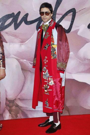 Jared Leto in Gucci - British Fashion Awards 2016