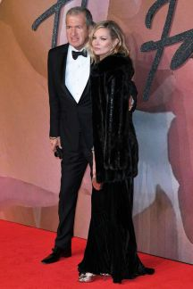 Kate Moss and Mario Testino - British Fashion Awards 2016