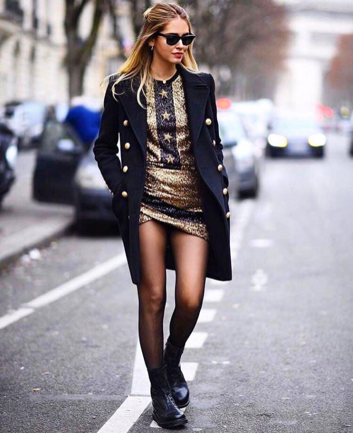 Chiara Ferragni - Street Style Paris Couture Week SS17