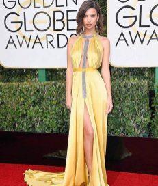 Emily Ratajkowski is Reem Accra Golden Globes 2017
